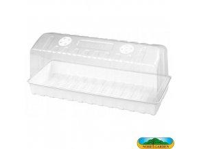 NOHEL GARDEN® 48838 Miniskleník s ventilací, 47 x 20 x 20 cm