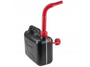 Kanystr na PHM 5 l, plastový, černý