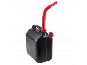 Kanystr na PHM 10 l, plastový, černý
