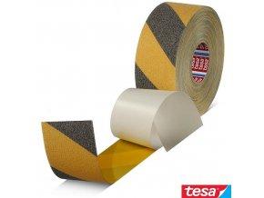 tesa® 60951 Anti-Slip Tape Professional páska protiskluzová bezpečnostní černo-žlutá