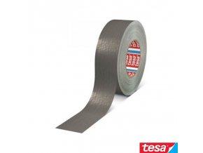 tesa® 4663 Professional HEAVY DUTY textilní DUCT páska stříbrná