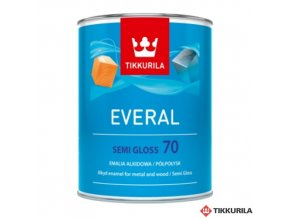 Everal 0,9l semi gloss 70