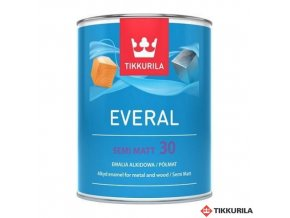 Everal 0,9l semi matt 30