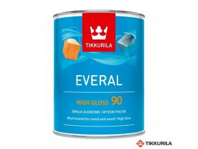 Everal 0,9l high gloss 90