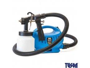 TUSON® 130027 Pistole stříkací elektrická s kompresorem, 650 W, 1000 ml