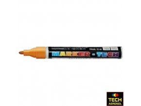 Marker tech oranžový široký