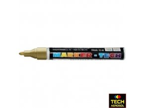 Marker tech zlatý široký