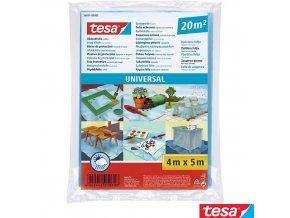 tesa® 56651 zakrývací folie transparentní, 4 x 5 m