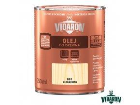 Vidaron olej na dřevo D01 750