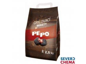 PE-PO® Grilovací brikety, 2,5 kg