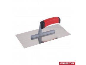 FESTA® 31140 Hladítko rovné PROFI, 280 x 130 x 1 mm, nerez