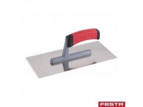 FESTA® Hladítko zubové PROFI, E4, 280 x 130 x 1 mm, nerez