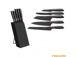 FISKARS® EDGE Blok s 5 noži
