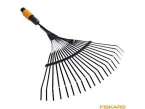 FISKARS® QuikFit™ Hrábě na listí kovové, 430 mm