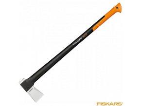 FISKARS® X27 Štípací sekera XXL 2600 g, násada FiberComp™ 96 cm