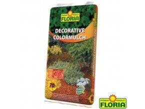 FLORIA® Dekorativní mulčovací kůra, oranžová, 70 l