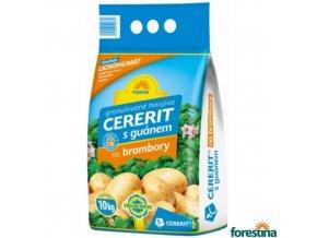 CERERIT® ORGAMIN granulované hnojivo s guánem na brambory, 10 kg