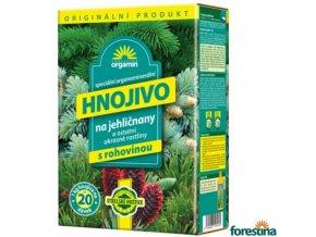 FORESTINA® BIOMIN Granulované hnojivo s rohovinou na jehličnany a okrasné rostliny
