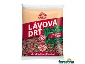 FORESTINA® DEKOR Lávová drť, 8-16 mm, tmavě cihlová