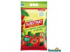 FORESTINA® PROFÍK Speciální substrát supresivní pro rajčata, papriky a okurky, 15 l