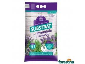 FORESTINA® PROFÍK Speciálně připravený substrát pro levandule a rozmarýny, 15 l
