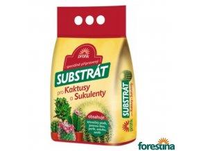 FORESTINA® PROFÍK Speciálně připravený substrát pro kaktusy a sukulenty, 5 l