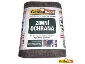 GARDENWOOL® Zimní ochranná rohož z ovčí vlny, 200 x 30 cm, 500 g/m2