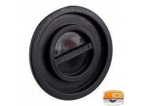 ICS® Víko k nádobě na odpad 100-120 l, pr. 54 cm, černé
