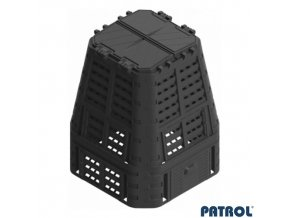 PATROL® MULTI Kompostér plastový černý, 650 l