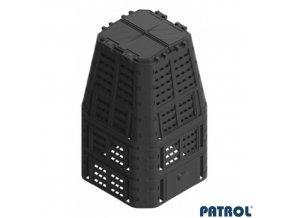 PATROL® MULTI Kompostér plastový černý, 880 l