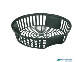 PROSPERPLAST® ONION II Košík na cibuloviny kulatý plastový, pr. 26,5 x 5,6 cm