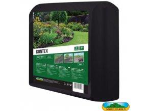 NOHEL GARDEN® 00861 KONTEX Netkaná textilie mulčovací, černá, 1,6 x 10 m, 50 g/m2
