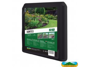 NOHEL GARDEN® 00860 KONTEX Netkaná textilie mulčovací, černá, 1,6 x 5 m, 50 g/m2