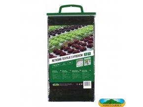 NOHEL GARDEN® Netkaná textilie s výsekem pro saláty, 1,6 x 2,7 m, 50 g/m2