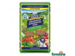 FORESTINA® HOŠTICKÝ SUBSTRÁT Organický zúrodňovač půdy, 40 l