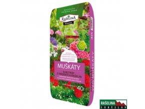 RAŠELINA SOBĚSLAV PREMIUM Substrát pro muškáty a balkonové rostliny, 40 l