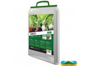 NOHEL GARDEN® 00854 STARTEX Netkaná textilie zakrývací k rychlení, bílá, 1,6 x 20 m, 19 g/m2
