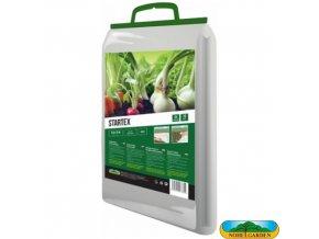 NOHEL GARDEN® 00855 STARTEX Netkaná textilie zakrývací k rychlení, bílá, 1,6 x 5 m, 19 g/m2