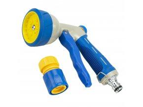 PL CRAFT® 98272 Pistole zavlažovací, 9 funkcí, kov + plast, rychlospojka
