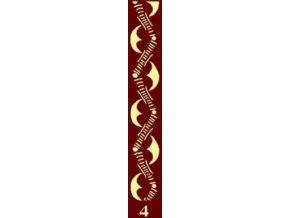 dekorační váleček bordur 4