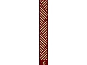 dekorační váleček bordur 6
