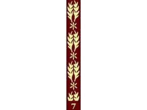 dekorační váleček bordur 7