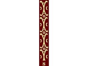 dekorační váleček bordur 8