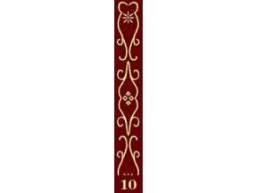 dekorační váleček bordur 10