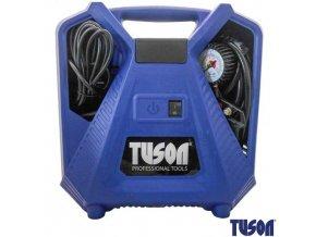 TUSON® Kompresor bezolejový, 1,1 kW, 8 bar, 180 l/min, s příslušenstvím