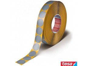 tesa® 54657 Tesaband® Premium tepelně odolná textilní lepicí fixační kolečka, do 180°C, pr. 20 mm