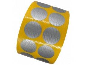 LGA 321030 textilní lepicí fixační kolečka - extra silná, pr. 30 mm