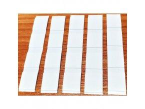 LGA 3101820 pěnové oboustranně lepicí fixační štítky, 18 x 20 mm