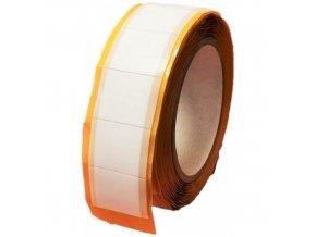 LGA 2172525FL pěnové oboustranně lepicí fixační čtverečky bílé, s fingerliftem, 25 x 25 mm