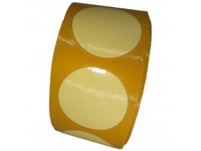 LGA 21725 pěnové oboustranně lepicí fixační kolečka bílá, pr. 25 mm